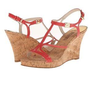 Michael Kors Cicely Wedge Strappy Heel Sandal